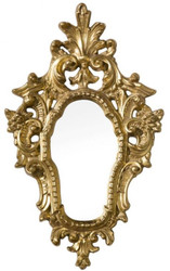 Casa Padrino luxury baroque mirror gold 39 x 3 x H. 64 cm - Wall mirror in baroque style - Noble & Ornate