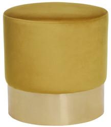 Casa Padrino Luxury Stool Ø 40 x H. 42 cm - Different Colors - Round Velvet Stool - Luxury Collection
