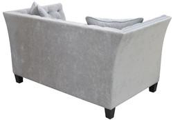 Casa Padrino Luxus Chesterfield Samt Sofa mit Kissen 174,5 x 91 x H. 86 cm - Verschiedene Farben - Wohnzimmer Möbel - Chesterfield Möbel – Bild 4