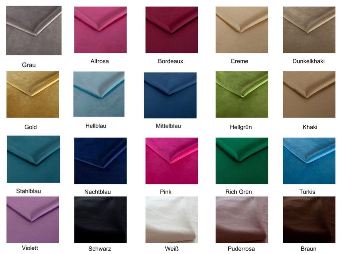 Casa Padrino Luxus Samt Sofa 200 x 75 x H. 70 cm - Verschiedene Farben - Wohnzimmer Möbel - Luxus Qualität 6
