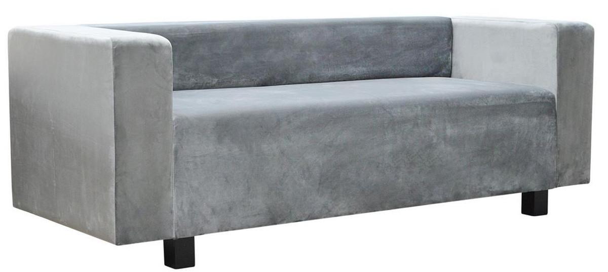 Casa Padrino Luxus Samt Sofa 200 x 75 x H. 70 cm - Verschiedene Farben - Wohnzimmer Möbel - Luxus Qualität 2