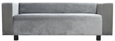 Casa Padrino Luxus Samt Sofa 200 x 75 x H. 70 cm - Verschiedene Farben - Wohnzimmer Möbel - Luxus Qualität – Bild 1
