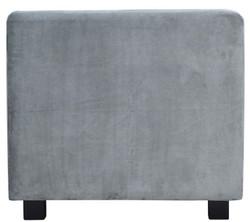 Casa Padrino Luxus Samt Sofa 200 x 75 x H. 70 cm - Verschiedene Farben - Wohnzimmer Möbel - Luxus Qualität – Bild 3