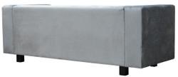Casa Padrino Luxus Samt Sofa 200 x 75 x H. 70 cm - Verschiedene Farben - Wohnzimmer Möbel - Luxus Qualität – Bild 4