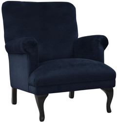 Casa Padrino luxury living room velvet armchair 82 x 75 x H. 93 cm - Different Colors - Luxury Living Room Furniture