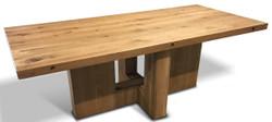 Casa Padrino Luxus Massivholz Esstisch - Verschiedene Größen & Farben - Rustikale Esszimmer Möbel
