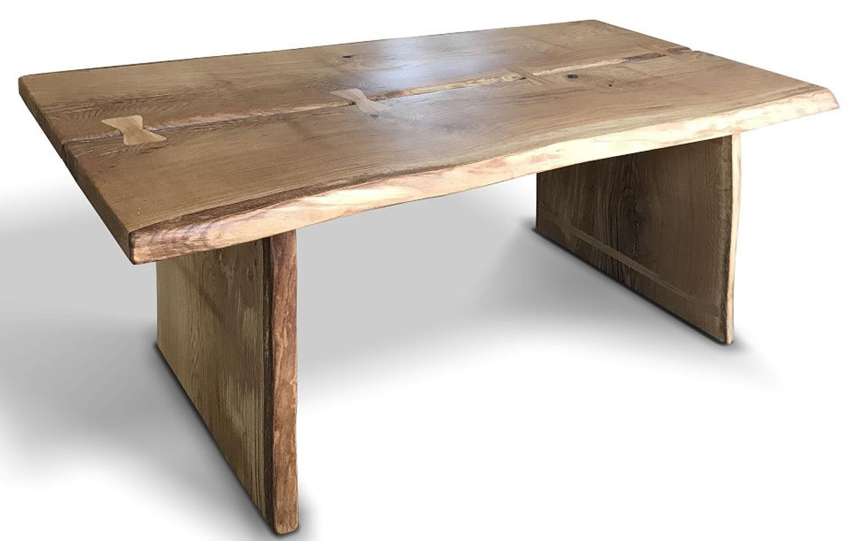 Casa Padrino Luxury Solid Wood Dining Table 9 x 9 x H. 9 cm    Different Colors   Rustic Kitchen Table   Dining Room Furniture