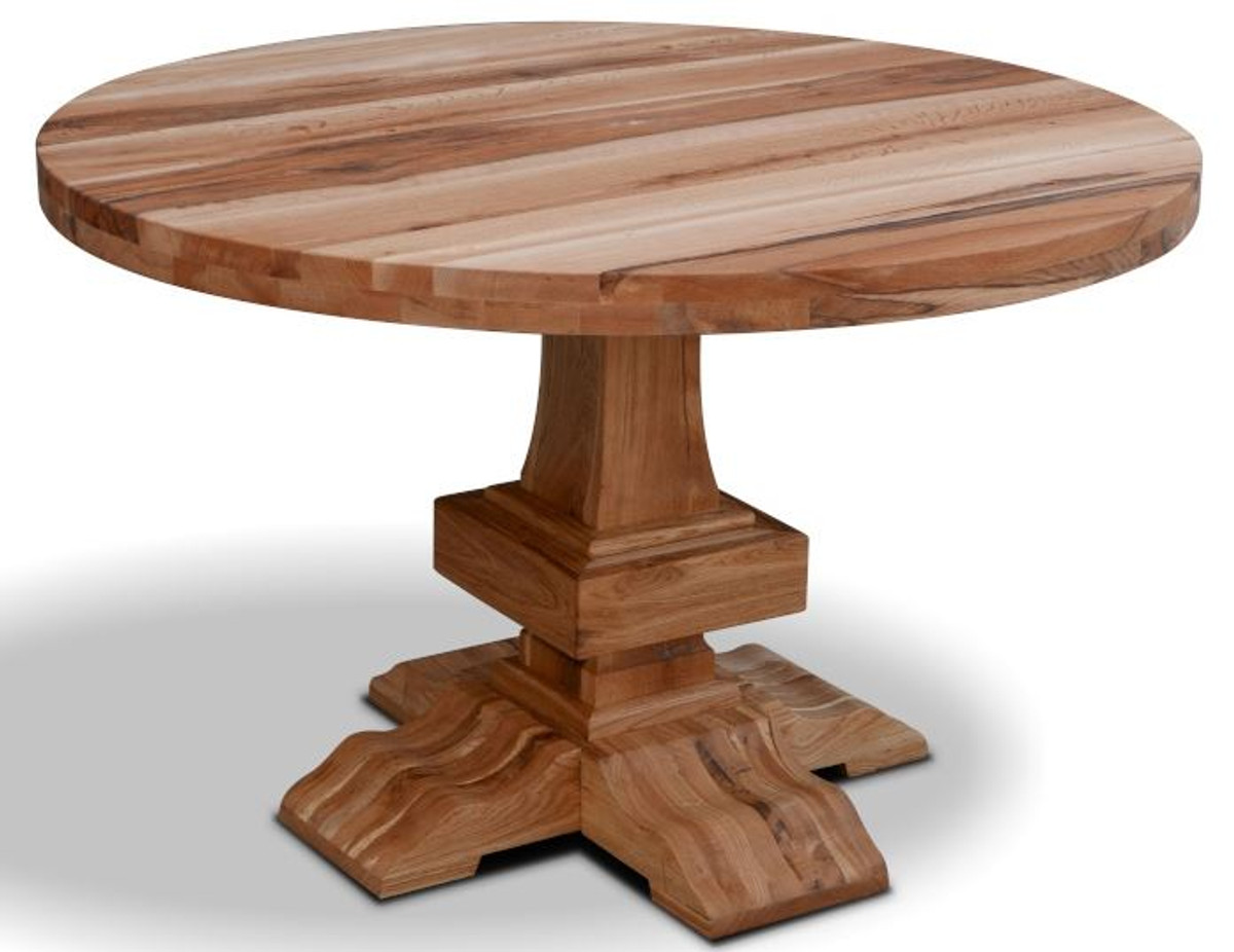 Casa Padrino solid wood kitchen table   Rustic Dining Room Furniture