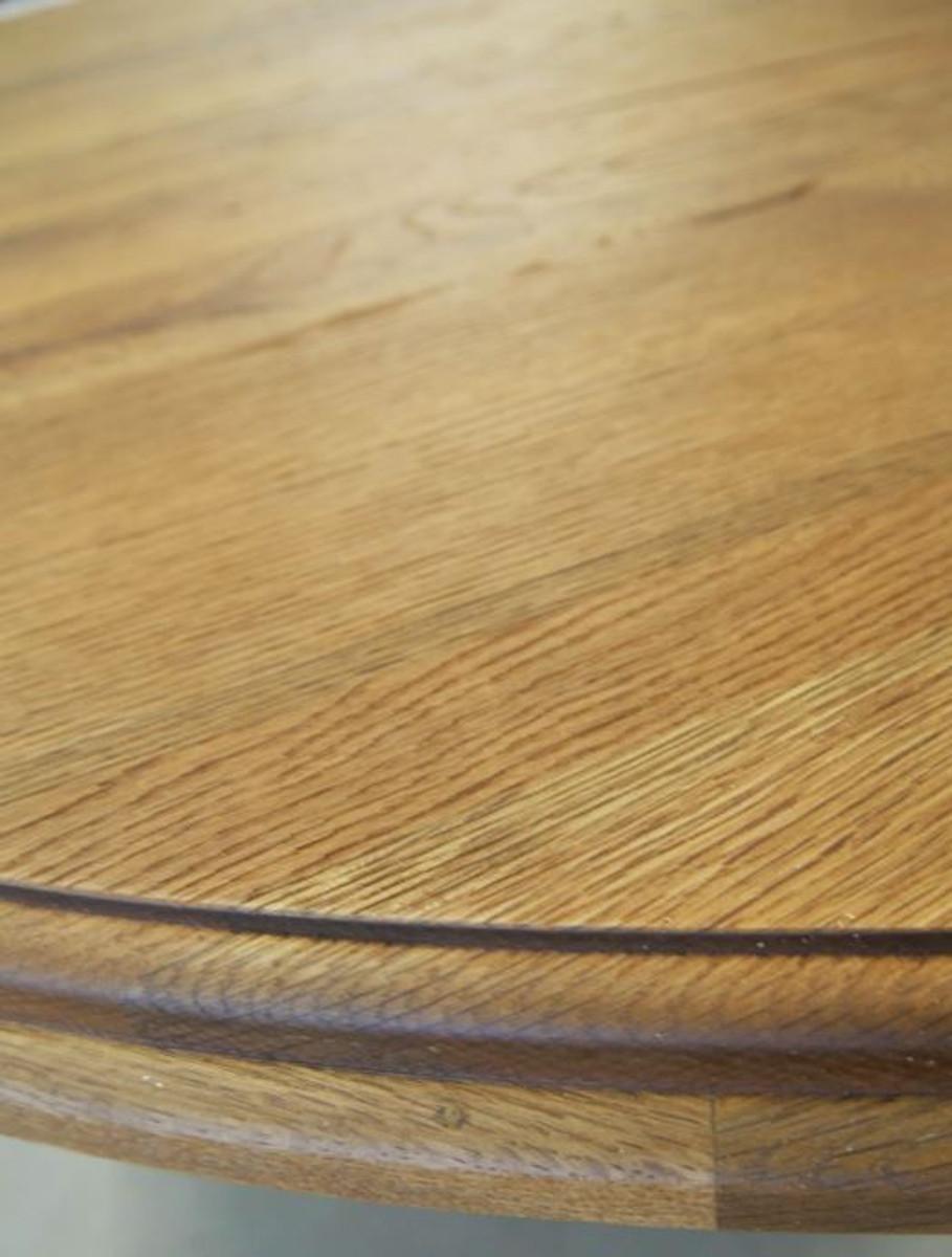 Casa Padrino Tavolo Da Cucina In Legno Massello Diverse Dimensioni E Colori Tavolo Da Pranzo Rotondo In Rovere Rustico Mobili Per Sala Da Pranzo Casa Padrino De