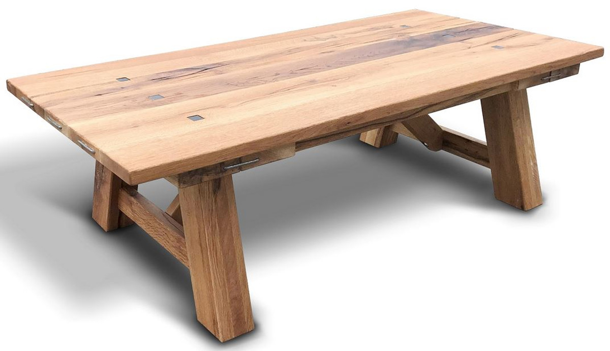 - Casa Padrino Solid Wood Coffee Table - Different Colors & Sizes