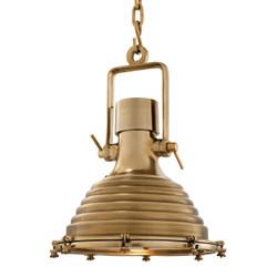 Casa Padrino pendant light ceiling lamp brass industrial design 48 x H 64 cm - industrial lamp light industrial light