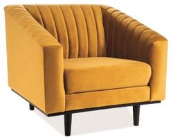 Casa Padrino luxury velvet armchair 83 x 85 x H. 78 cm - Different Colors - Living Room Armchair - Living Room Furniture