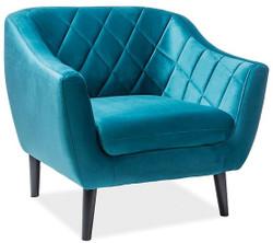 Casa Padrino luxury velvet armchair 105 x 85 x H. 83 cm - Different Colors - Living Room Armchair - Living Room Furniture