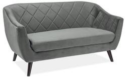 Casa Padrino luxury living room sofa 160 x 85 x H. 83 cm - Couch with fine velvet - Living Room Furniture