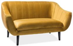 Casa Padrino luxury velvet sofa 153 x 85 x H. 83 cm - Different Colors - Living room sofa - Couch with fine velvet fabric - Living Room Furniture