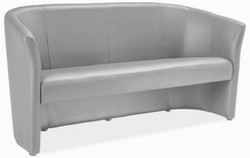 Casa Padrino designer faux leather sofa 160 x 60 x H. 76 cm - Different Colors - Living Room Sofa - Designer Living Room Furniture