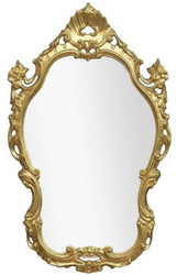 Casa Padrino luxury baroque mirror gold 55 x 4 x H. 86 cm - Ornate wall mirror in baroque style - Luxury Quality - Made in Italy