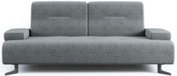 Casa Padrino luxury sofa with adjustable backrests gray - Various Sizes - Modern living room sofa - Luxury Furniture