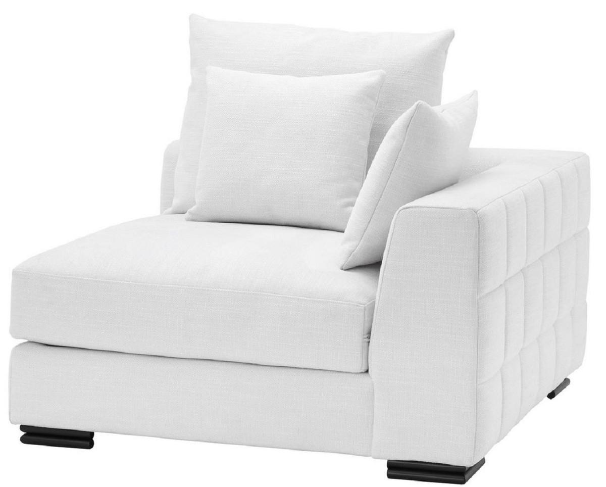 Casa Padrino Luxury Corner Sofa White