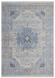 Casa Padrino vintage carpet blue / gray - Different Sizes - Rectangular living room carpet - Decorative Accessories
