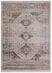 Casa Padrino vintage living room carpet multicolor - Different Sizes - Rectangular Carpet - Decorative Accessories