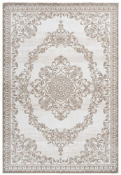 Casa Padrino living room carpet beige - Various Sizes - Rectangular rug in vintage design - Decorative Accessories