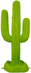 Casa Padrino designer sculpture cactus green 84 x H. 185 cm - Weatherproof Garden Decoration