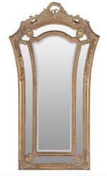 Casa Padrino baroque wall mirror brown / gold 115 x H. 207 cm - baroque style mirror antique style furniture