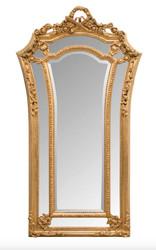 Casa Padrino Barock Wandspiegel Gold 115 x H. 207 cm - Barockstil Spiegel Antik Stil Möbel