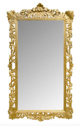 Casa Padrino baroque wall mirror gold 115 x H. 202 cm - baroque style mirror antique style furniture