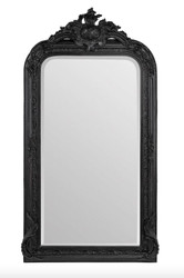 Casa Padrino baroque mirror black 90 x H. 160 cm - wall mirror antique style furniture