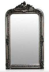 Casa Padrino baroque mirror silver antique style 90 x H. 160 cm - wall mirror furniture