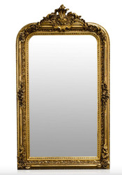 Casa Padrino baroque mirror gold antique style 90 x H. 160 cm - wall mirror furniture