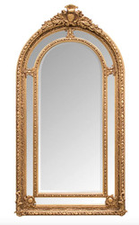 Ornate Casa Padrino baroque wall mirror 110 x H. 215 cm - baroque mirror