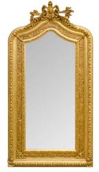 Prunkvoller Casa Padrino Barock Wandspiegel 108 x H. 207 cm - Barock Spiegel
