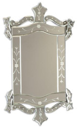 Casa Padrino baroque mirror 39.3 x H. 67.5 cm - Wall mirror in baroque style - Baroque Furniture
