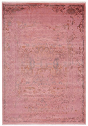 Casa Padrino acrylic carpet vintage raspberry - Different Sizes - Rectangular living room carpet in vintage look