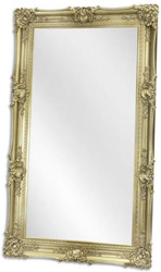 Casa Padrino baroque mirror silver 122 x H. 212 cm - Wardrobe mirror - Living room mirror - Baroque Furniture