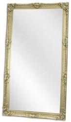 Casa Padrino Barock Spiegel Silber 109 x H. 199 cm - Garderoben Spiegel - Wohnzimmer Spiegel - Barock Möbel