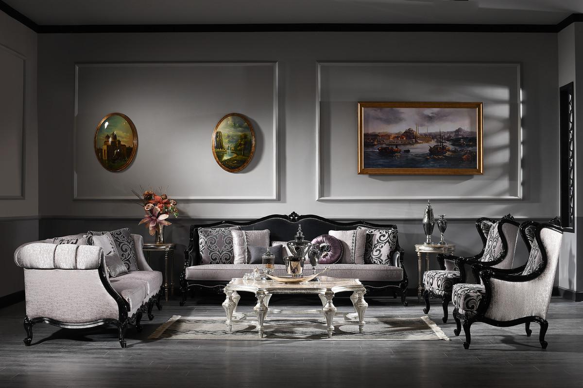 Casa Padrino Luxury Baroque Living Room Set   200 Sofas & 200 ...