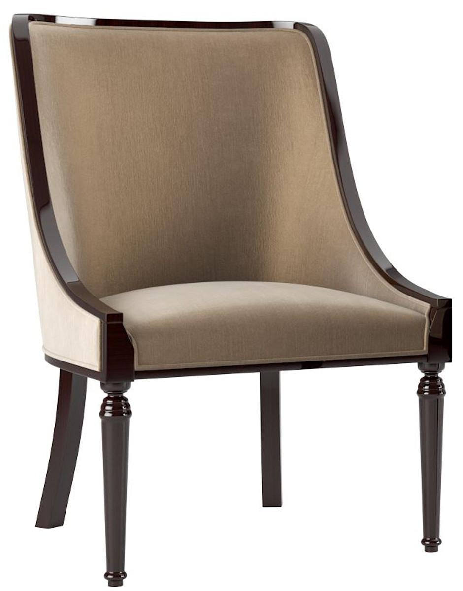 Casa Padrino set sedia da pranzo barocco di lusso beige ...