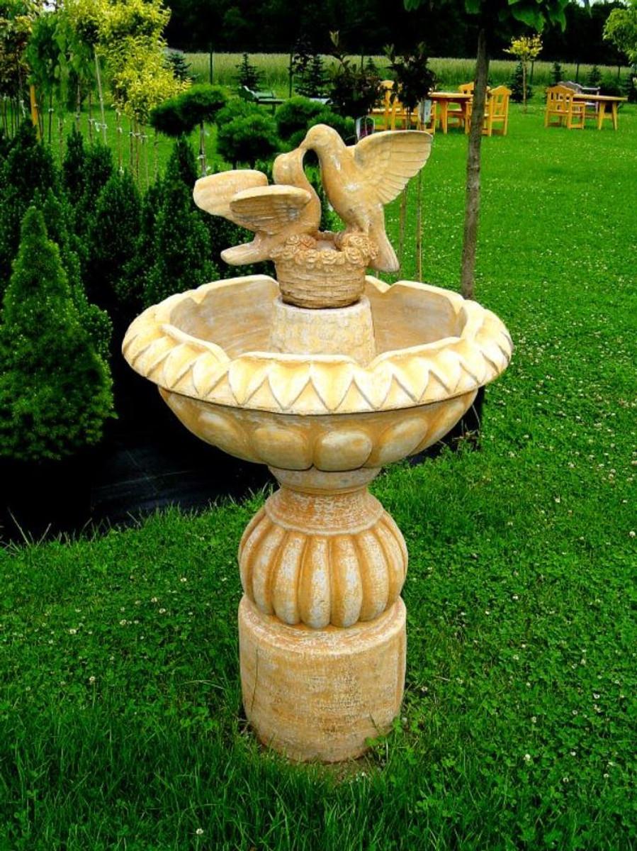 Garten Deko Brunnen