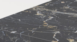Casa Padrino luxury marble coffee table black 140 x 80 x H. 32 cm - Rectangular living room table made of high quality Emperador marble - Luxury Furniture 2