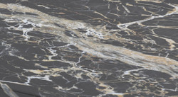 Casa Padrino luxury marble coffee table black 140 x 80 x H. 32 cm - Rectangular living room table made of high quality Emperador marble - Luxury Furniture 3