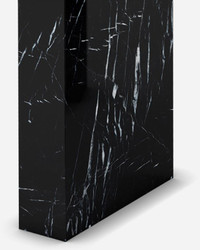 Casa Padrino luxury marble console black 150 x 45 x H. 90 cm - Modern console table made of high quality marble - Luxury Furniture 3