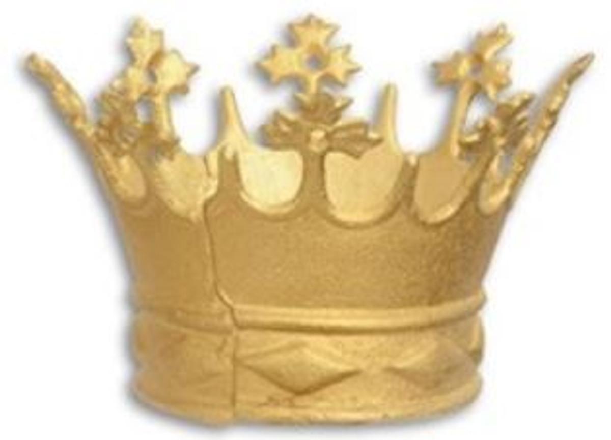 Casa Padrino Barock Deko Kronen Set Gold O 15 3 X H 13 Cm Deko Accessoires Im Barockstil Krone Dekoration Barockgrosshandel De