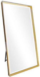 Casa Padrino luxury standing mirror gold 100 x H. 200 cm - Full length mirror - Bedroom mirror - Bedroom furniture