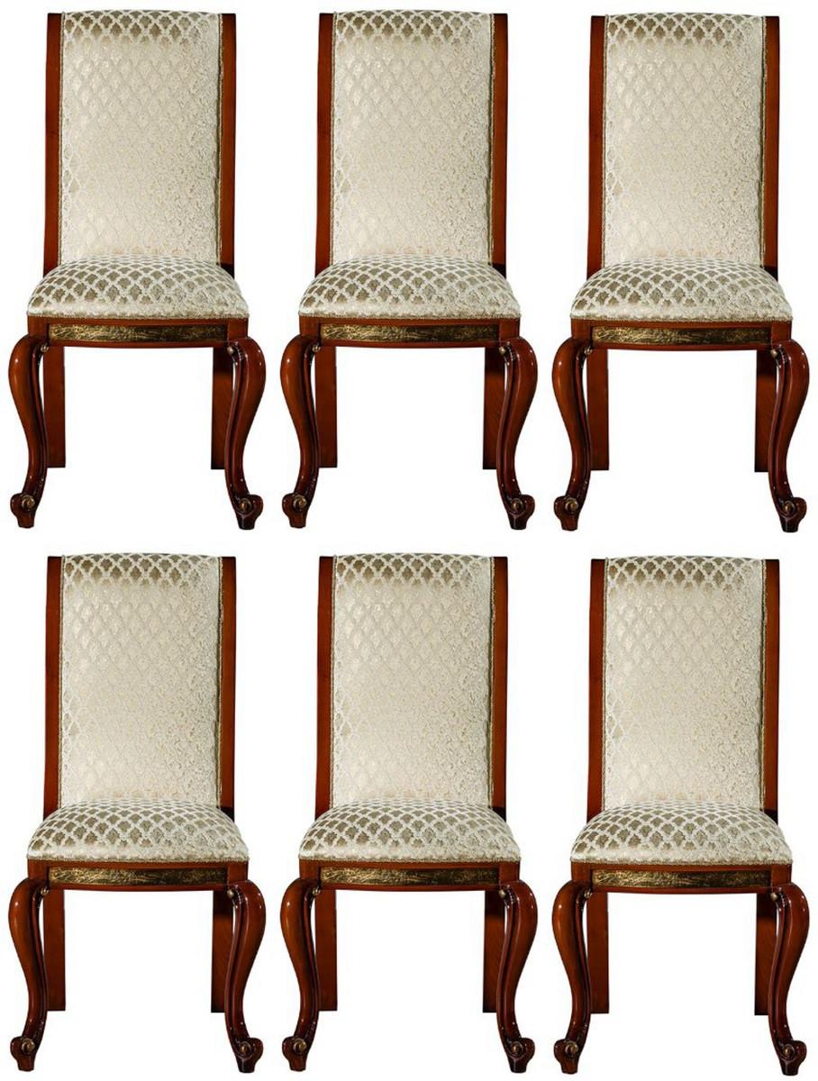 Casa Padrino set sedia da pranzo barocco di lusso oro ...