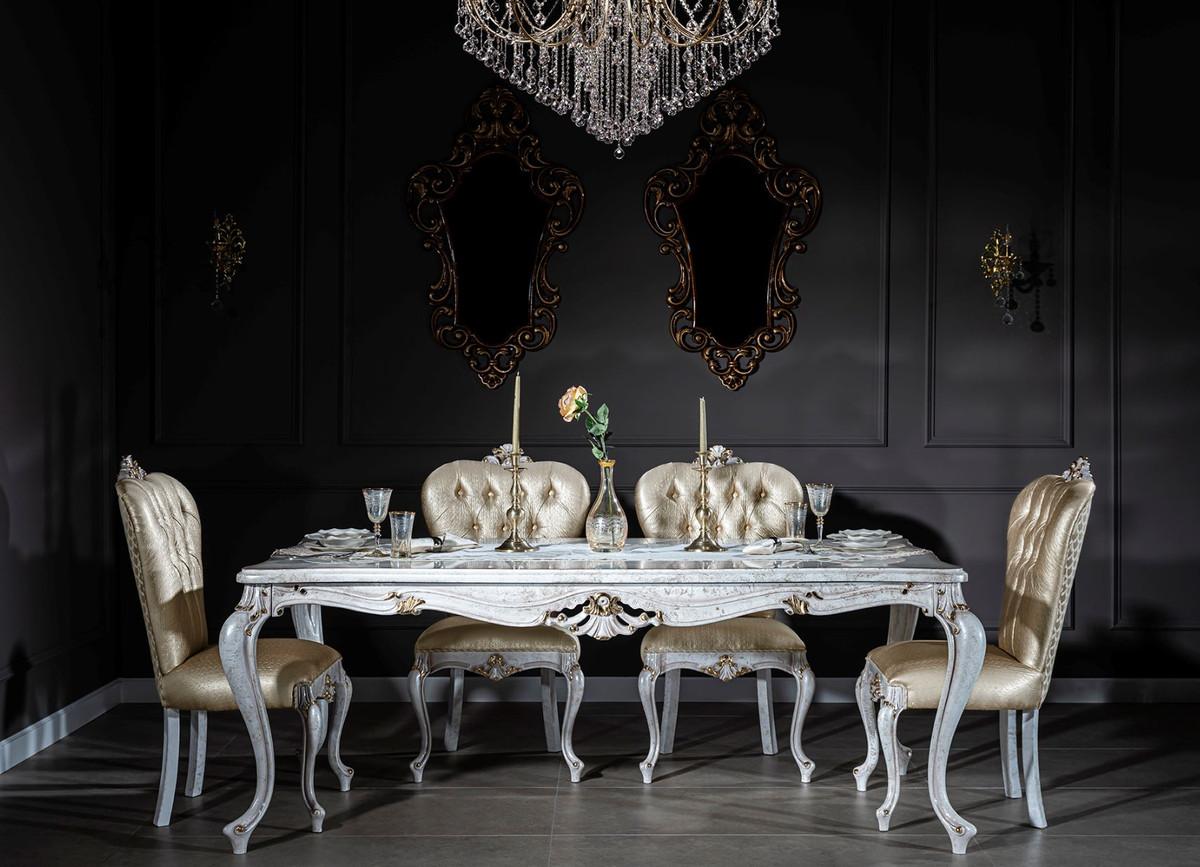 Casa Padrino Luxury Baroque Dining Room, Gold Dining Room Sets