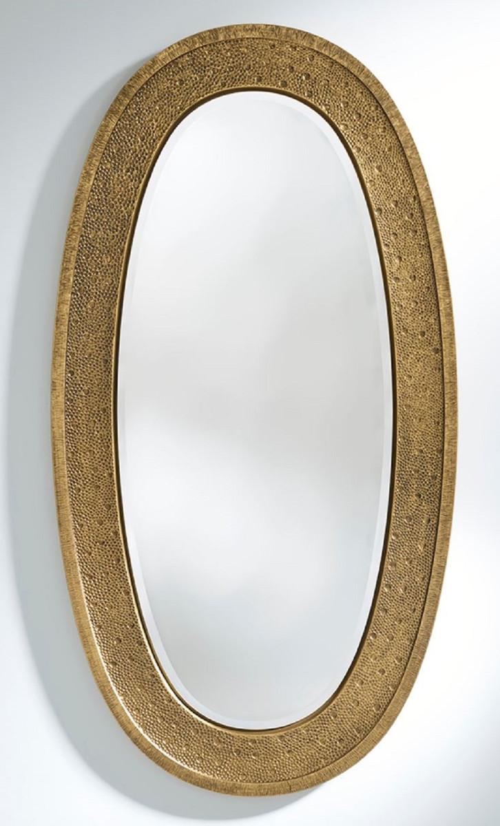 Casa Padrino Luxus Spiegel Gold 89 x 5 x H. 170 cm ...